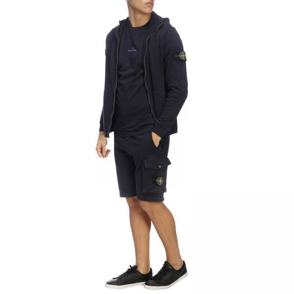 shirt Corte Stampa Con By Stone Maniche Island T A Maxi 80OPnwk