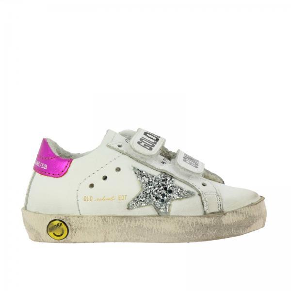 31a6353d93 Scarpe bambina Golden Goose Bianco | Sneakers Superstar Old School ...