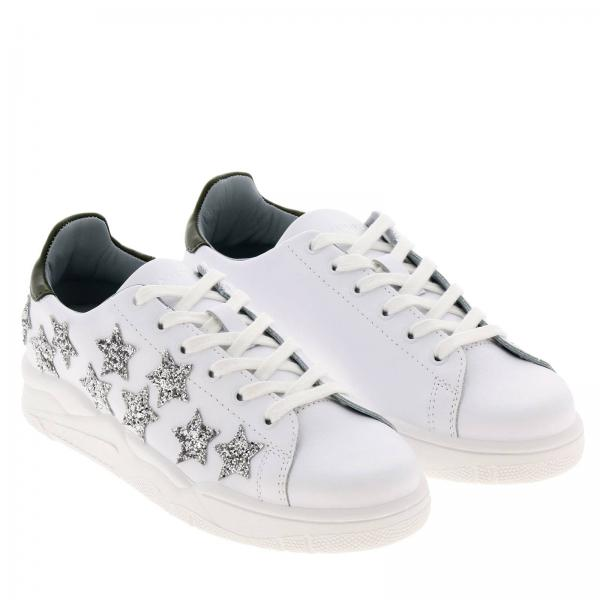 2019 Primavera Mujer Zapatillas Ferragni Chiara Cf2255giglio Blanco verano g6W0vxq
