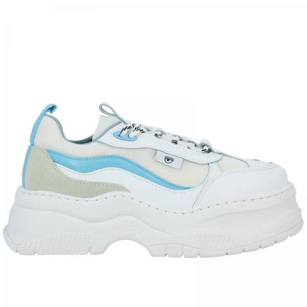 verano Primavera 2019 Mujer Blanco Zapatillas Chiara Ferragni Cf2341giglio X8wAvYf