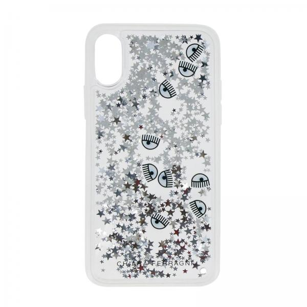 sito affidabile 18595 68c1e Cover stars chiara ferragni per iphone x con liquido in movimento