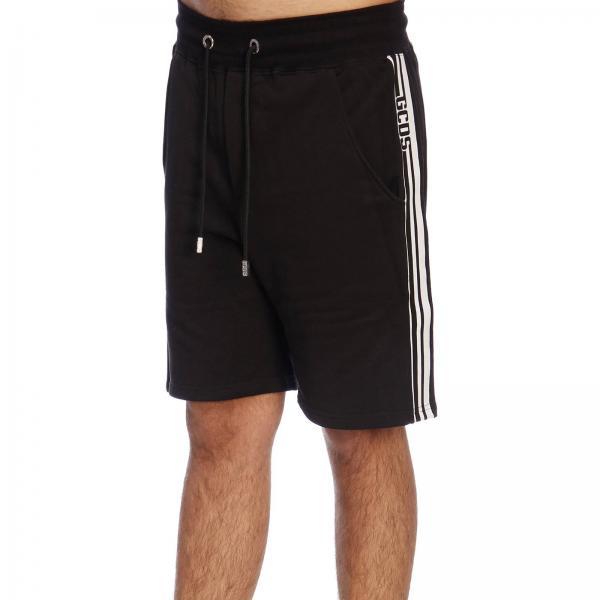 E Coulisse Pantalone Laterali Cc94m030081 Con Bande Uomo Maxi GcdsBermuda Jogging 8nOXwPk0