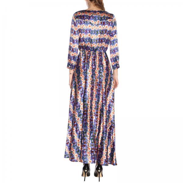 To224 Azul Primavera verano Mujer 2019 S107giglio Vestido Ultrachic Cz7UgHq