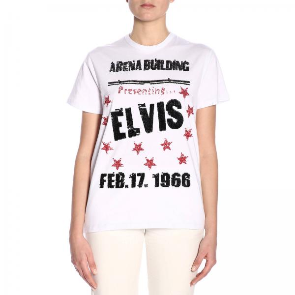 T-Shirt ULTRACHIC DP1 C40 ELVIS WHITE