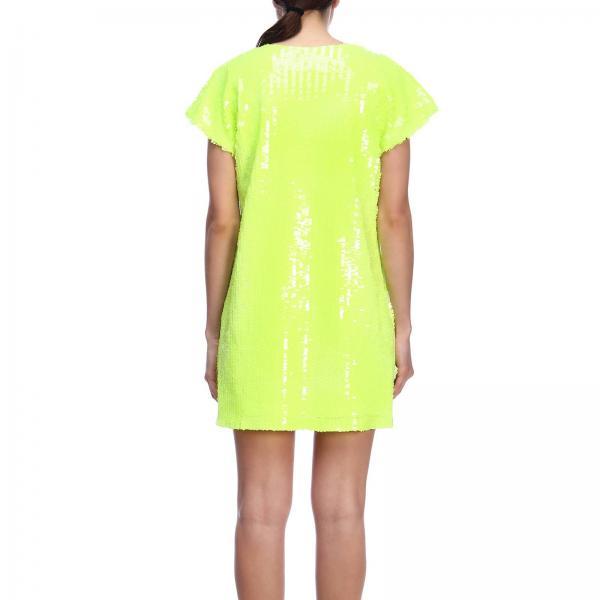 Primavera verano Amarillo Mujer Pl2giglio Ultrachic Vestido To234 2019 wYqXgzF