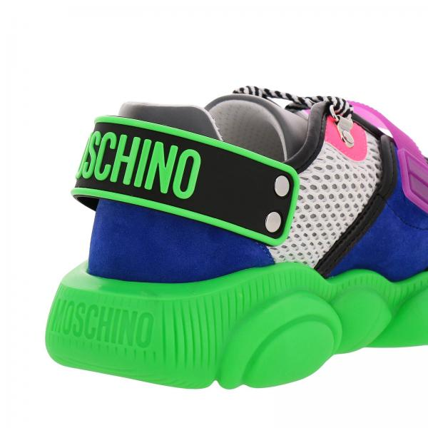 CoutureSpecial Edition Teddy Mb15503g28 Fluo Moschino 100 Sneakers Uomo 4jLAR53