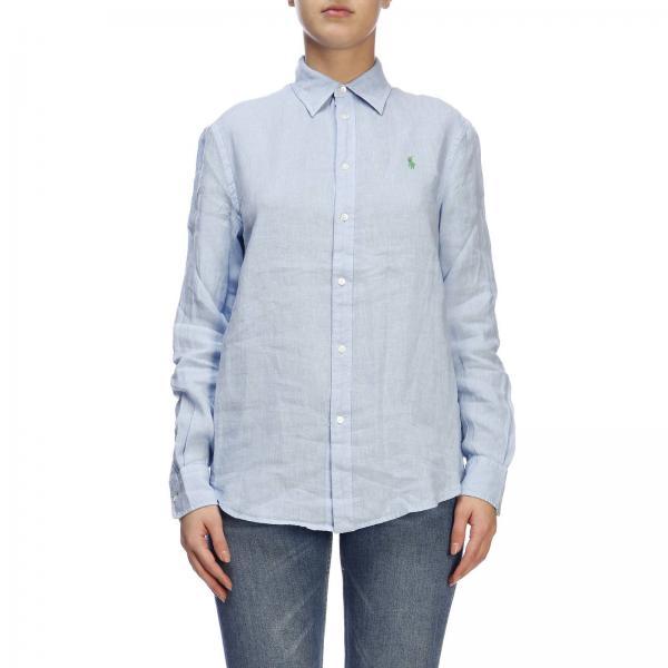 Camisa Polo Lauren Mujer 2019 verano Azul Ralph 211732637giglio Primavera ZPZSrBqxw