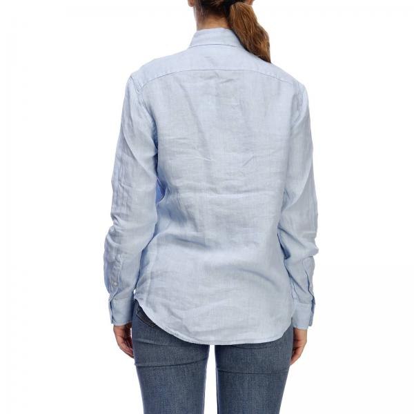 Ralph Polo Camisa Primavera Azul Lauren 211732637giglio verano Mujer 2019 waER5EqUp