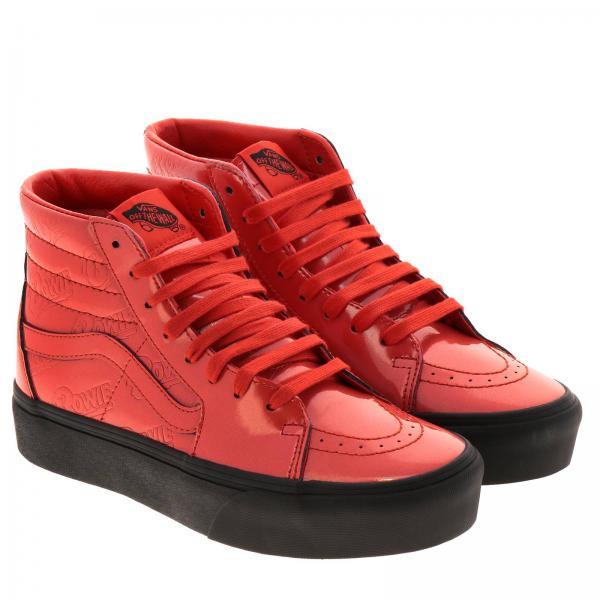 Vn0a3tknvgiglio Vans 2019 Rojo Mujer Primavera Zapatillas verano Fqtnv0fqw