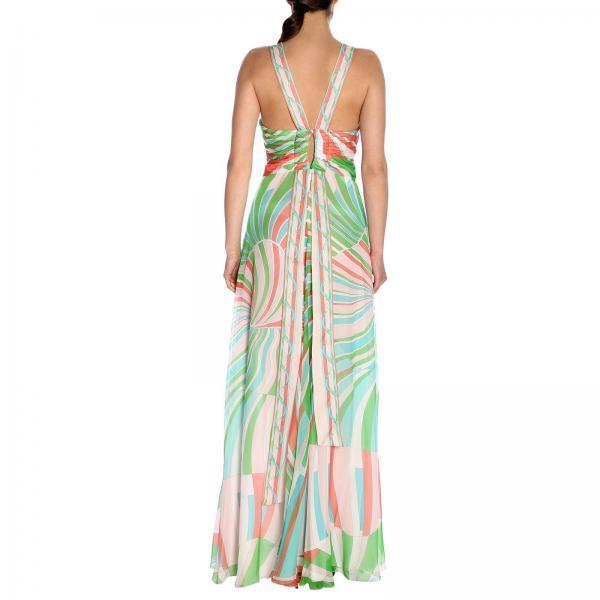 Primavera 2019 Vestido Pucci Emilio 9h759giglio 9hri11 verano Mujer Geranium wxPwSvq