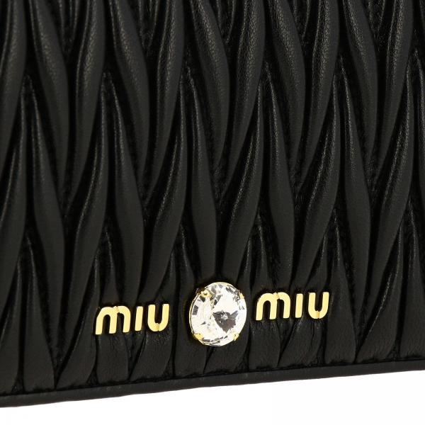Strass In Mini 2b9g Tracolla Donna Matelassé Pelle By Borsa Maxi Con 5dh029 MiuA Rj4q5LSc3A