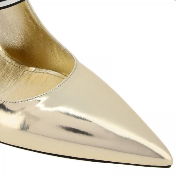 Salón 1i464l Prada Zapatos 3au1giglio Mujer Primavera verano Gold De 2019 51qRwO