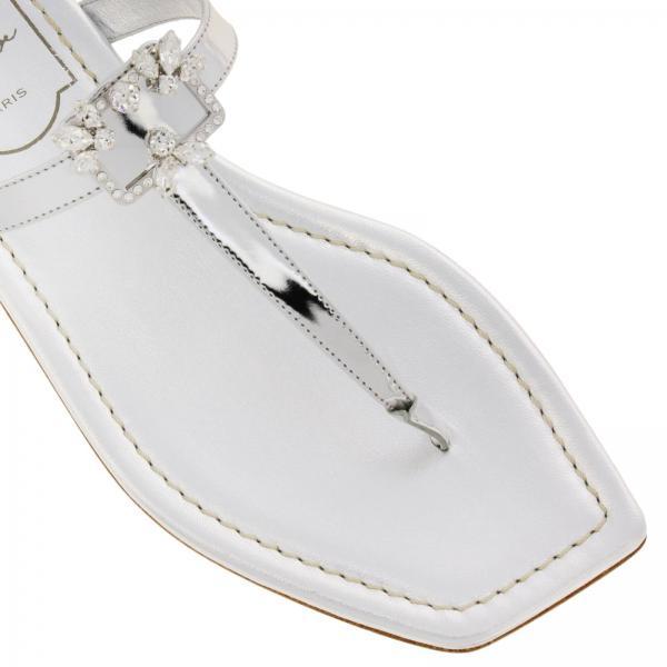 Primavera Roger 5esgiglio Rvw50425070 Vivier verano Zapatos Mujer 2019 Plata w5CqIvY