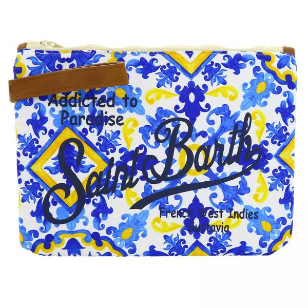 Mini bag Mc2 Saint Barth PARISIENNE MAJOLICA FANTASY 01