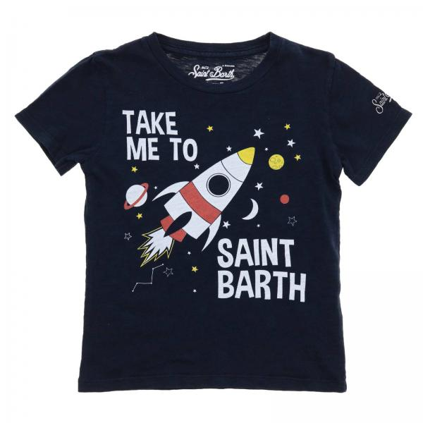 T-shirt Mc2 Saint Barth FLYNN SPACESHIP 61