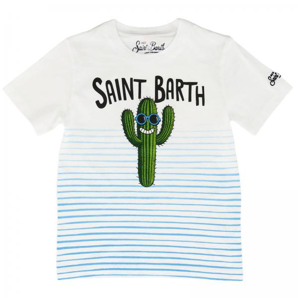 Camiseta Mc2 Saint Barth TSHIRT BOY CACTUS SMILE 0131