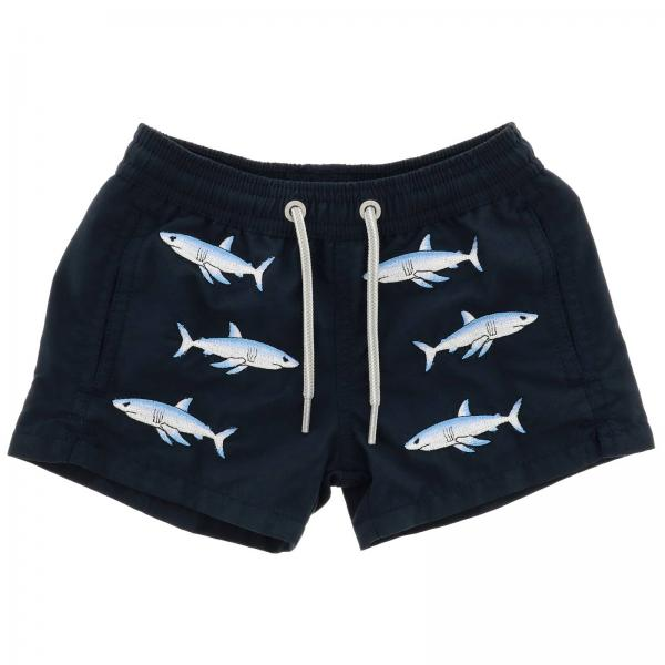 Swimsuit Mc2 Saint Barth JEAN EMBROIDERY SHARK