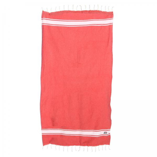 Beach towel Mc2 Saint Barth FOUTASPONGE ROSSO