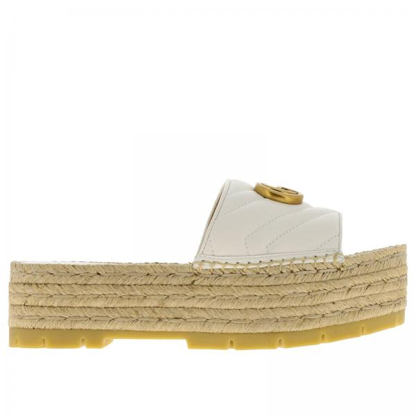 Wedge shoes Gucci 573027 BKO00