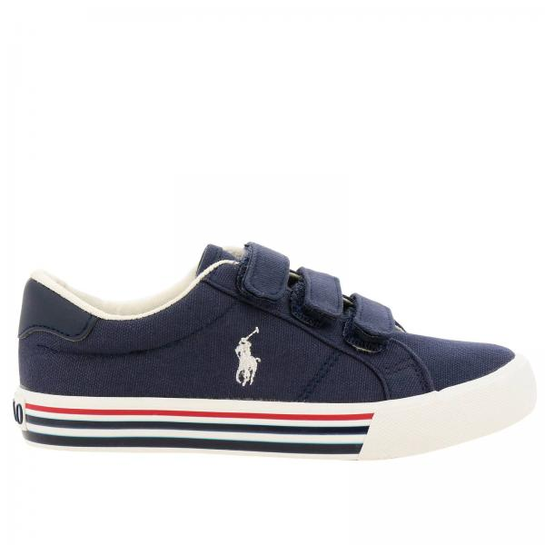 Polo Ralph Boy's Polo Ralph Kids Little Lauren Blue ShoesShoes ED2H9IW