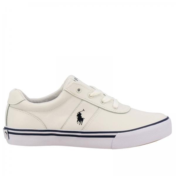886108b58ce6 Polo Ralph Lauren Little Boy's White Shoes | Shoes Kids Polo Ralph ...