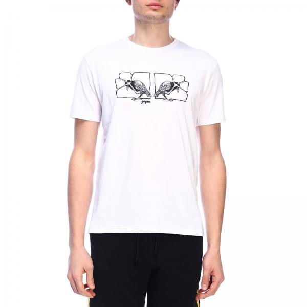 T-shirt Geym a maniche corte con maxi stampa birds