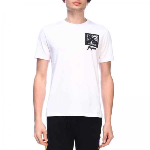 T-shirt Geym a maniche corte con maxi stampa