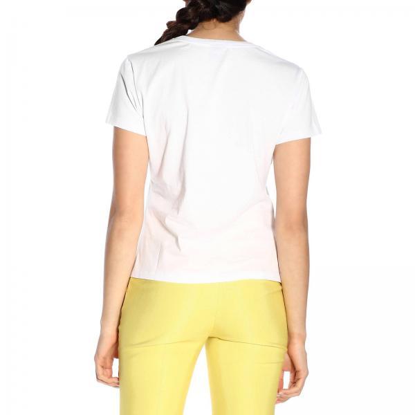 1n12ek Camiseta 2019 Blanco Pinko Mujer verano 7840 Primavera Henricgiglio CCTqfAwt