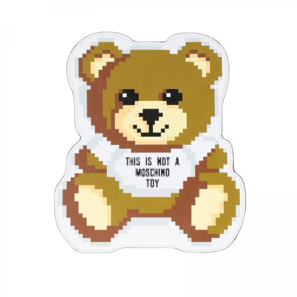 Clutch Moschino Capsule Collection Pixel a forma di Teddy
