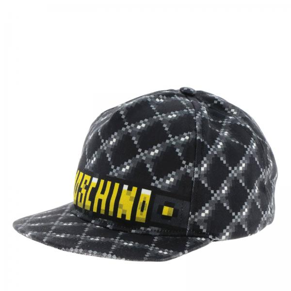 Бейсболка Moschino Capsule Collection Pixel с логотипом