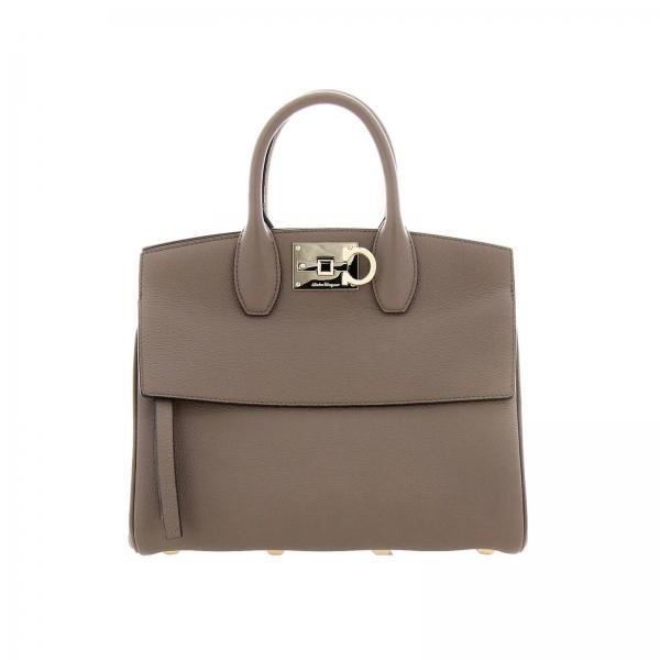 Salvatore Ferragamo The Studio small bag in textured leather