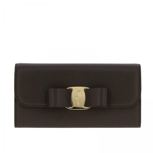 Vara Rainbow large wallet in smooth leather with Vara maxi bow