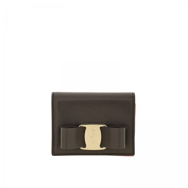 Vara Rainbow small wallet in smooth leather with Vara big bow