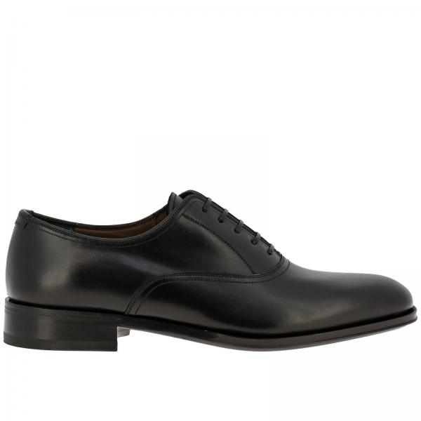 Alfredo Salvatore Ferragamo smooth leather brogues with rubber and leather sole