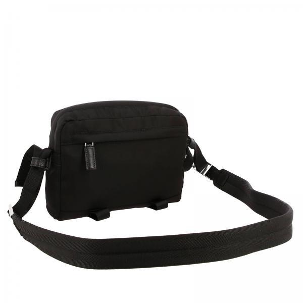 Uomo NeroCamera Bandoliera A Con Bag In 2vh043 973 Prada Borsa Tracolla Nylon Triangolare Logo Ooo Y6f7gIbvym