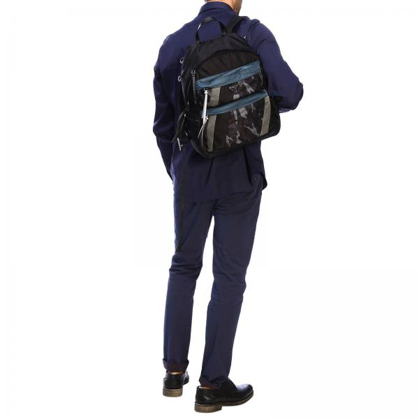 Zaino Con Uomo Prada Nylon Tasche Triangolare E NeroIn 2vz025 Opd 2acn Camouflage Logo FTlJc3uK1