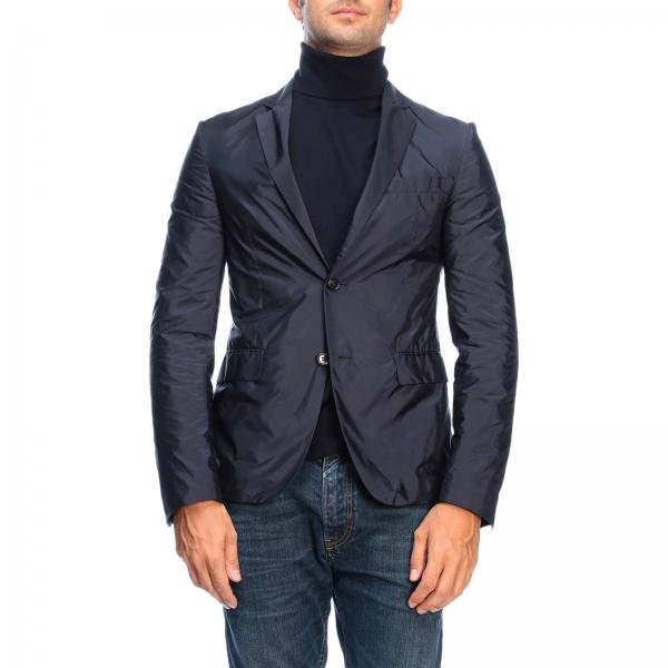Prada single-breasted blazer in nylon with two buttons