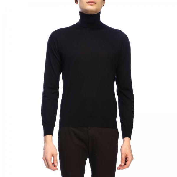 Prada turtleneck jumper in worsted wool with a fineness of 30
