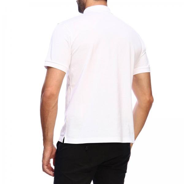 Ujn444 Xgs A Corte In Maniche T Logo Con Uomo shirt Piquet PradaPolo Cotone xWQrCedBo