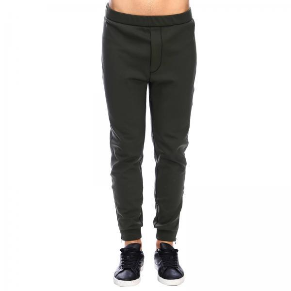 Pantalone Prada Jogging con zip e logo triangolare