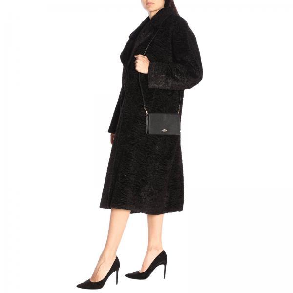 Mini Borsa Coach Donna Con NeroHayden 87401 Martellata Logo Fold Pelle In Over GUzpqVSM