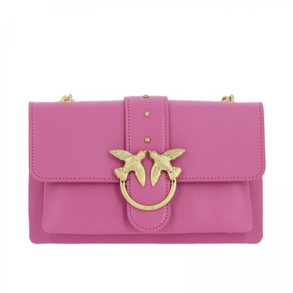 Pink Love Mini soft 1 leather bag