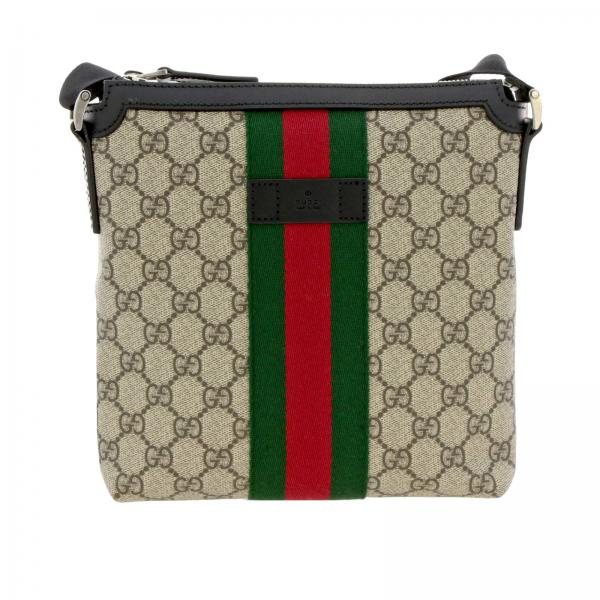 Gucci Supreme Gucci bag with Web band
