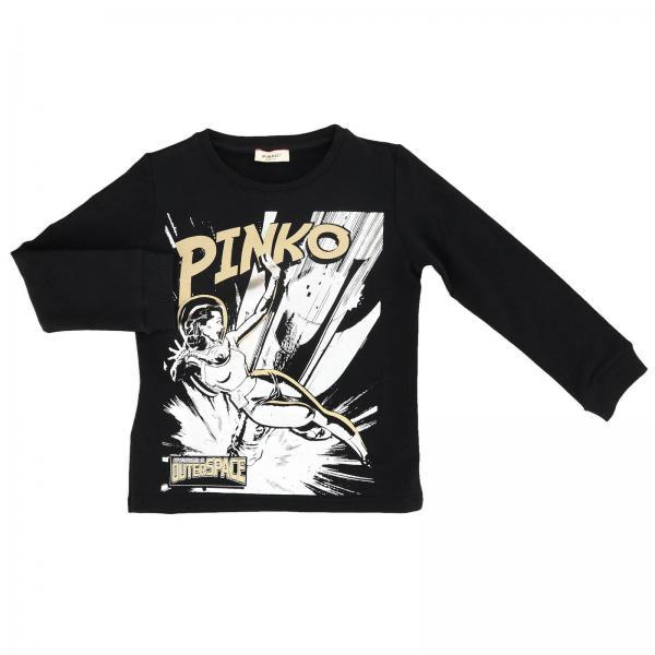Sweat Minatore Pinko à col rond avec maxi impression