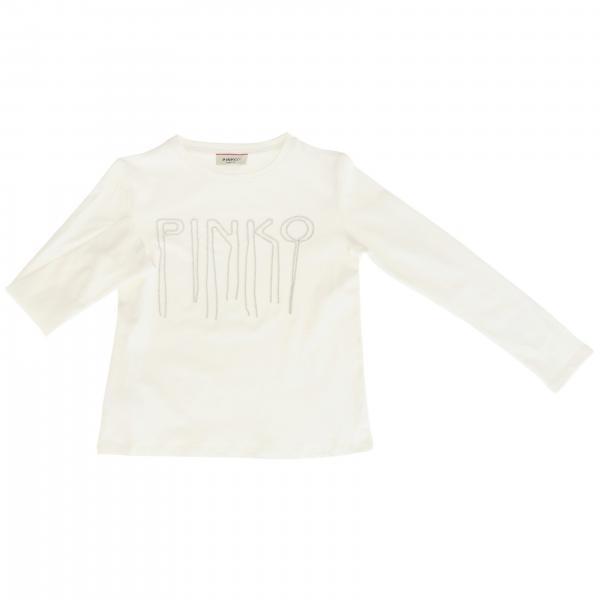 T-shirt Impiegato Pinko avec maxi logo