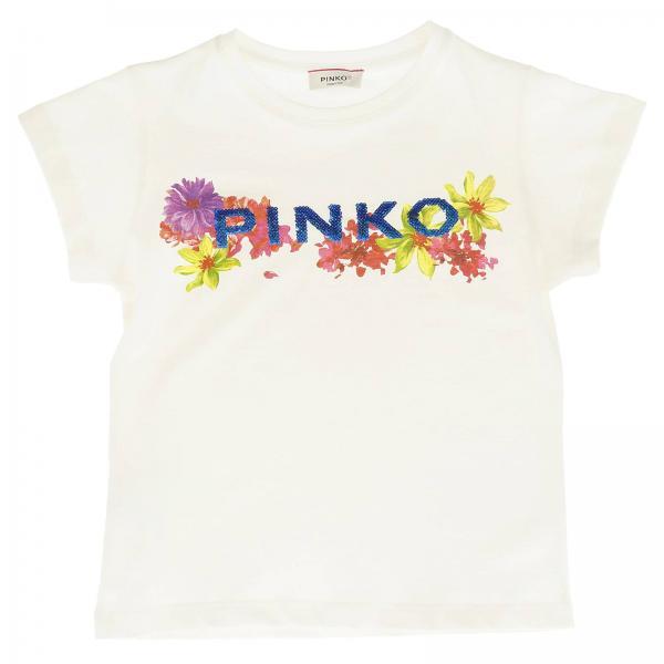 T-shirt Elettrauto Pinko à manches courtes avec maxi impression