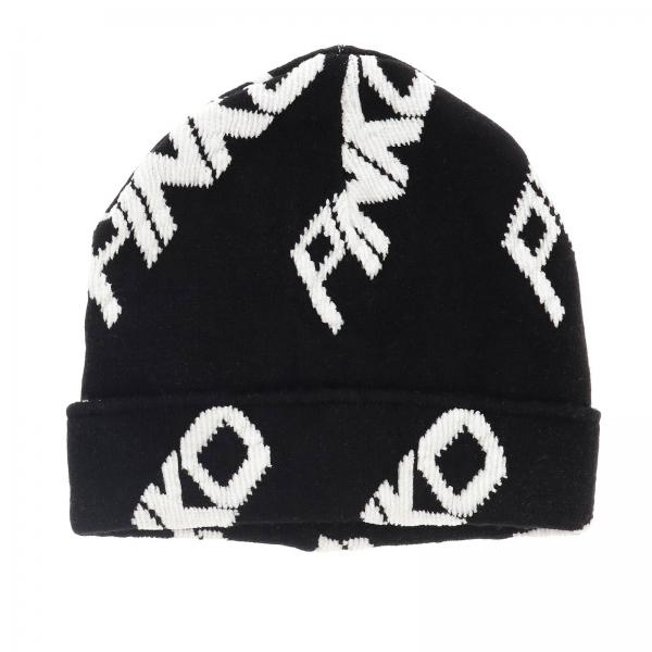 Gorro Personal trainer Pinko con logo all over