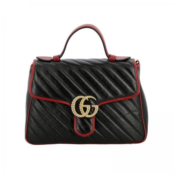 Borsa GG Marmont Gucci in pelle trapuntata con tracolla
