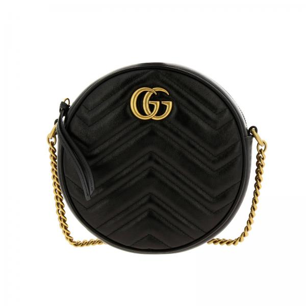 GG Marmont Gucci quilted leather disco bag