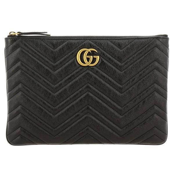 Pochette GG Marmont Gucci in pelle trapuntata